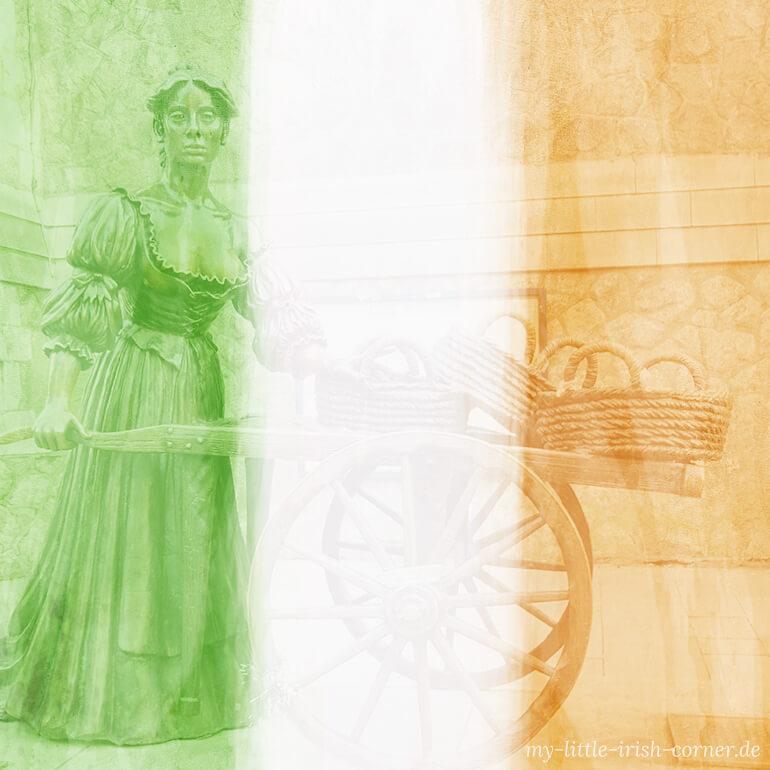 Irland Flagge Molly Malone