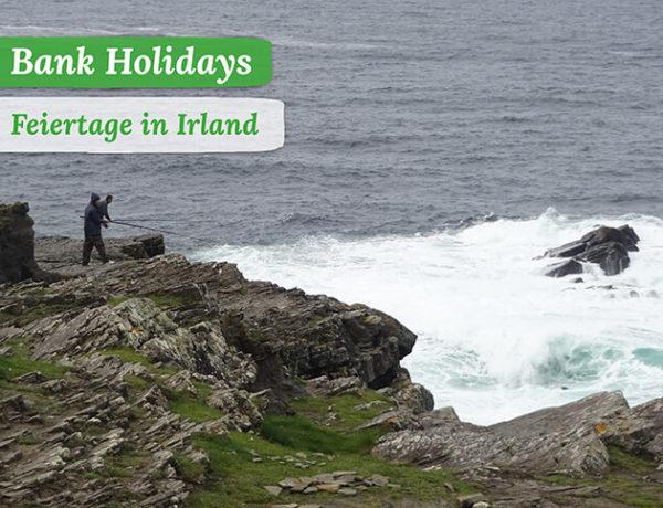 Titelbild Bank Holidays, Angler an den Kilkee Cliffs in Irland